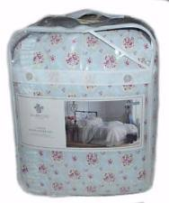 simply shabby chic blue rose floral twin comforter set w 1