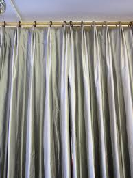 variation of a double pleat window drapery styles and pleated