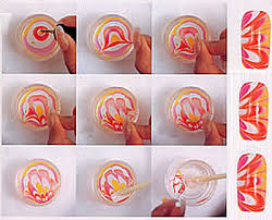 water marble nail art u2013 check it out pout perfection