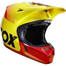 retro motocross gear fox racing 2015 limited edition 40th anniversary v3 helmet
