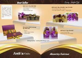 contoh desain brosur hotel contoh desain brosur kue pattiserie makanan 2 jpg 637 452 brosur