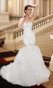 wedding dress mermaid sweetheart ruffles mermaid court wedding dress on sale