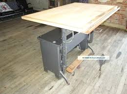 Antique Drafting Tables Furniture Vintage Drafting Table With Adjustable Height Antique