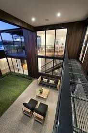 Houses With Courtyards 8 Airy Homes With Giant Glass Walls That Open To Courtyards