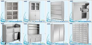 Kitchen Stainless Steel Mobile Storage Cabinetcommercial - Stainless steel kitchen storage cabinets