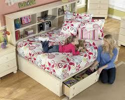 white bookcase bed amazon com cottage retreat vintage casual full size bookcase