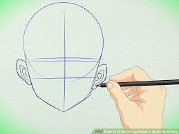 how to draw manga faces in basic sketching with pictures