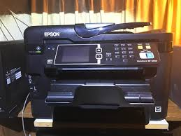 epson workforce wf 3640 all in one inkjet printer bj u0027s wholesale