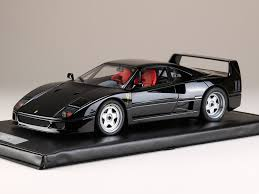 ferrari new model hobby japan 1 18 ferrari f40 black resin model pmk1802bk ebay