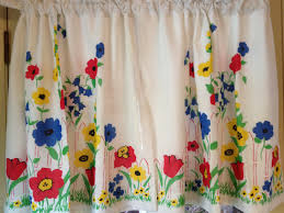 Teal Kitchen Curtains by Vintage Style Kitchen Curtains Adorable Vintage Kitchen Curtains