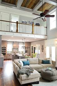 open floor house plans with loft the open floor plan and ceilings pinteres