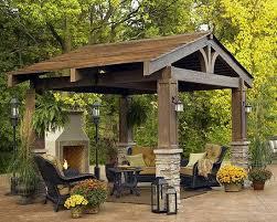 Gazebo Ideas For Backyard Backyard Gazebos 22 Beautiful Garden Design Ideas Wooden Pergolas
