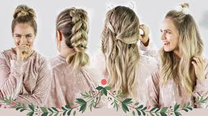 hairstyles quick and easy to do m christmas morning hairstyles quick and easy kayleymelissa
