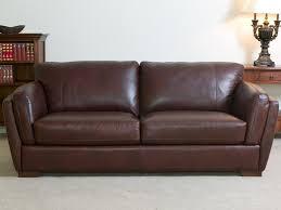 brown leather sofa leather custom brown leather sofa home design