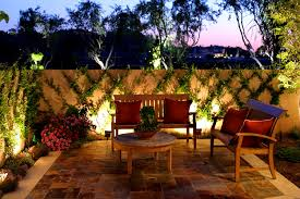 furniture backyard lighting ideas cool landscape lighting ideas