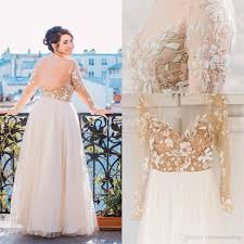 elegant 2016 plus size wedding dresses tulle long sleeve bridal