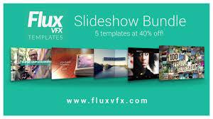 fluxvfx after effects template slideshow bundle fluxvfx