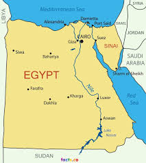 nile river on map the capital of and largest city in africa located near nile
