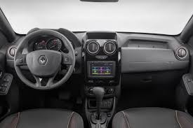 renault interior 2015 renault duster facelift interior brazil indian autos blog