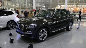 2017 bmw x3 vs 2018 2018 bmw x3 the xline m sport and luxury line trim variants