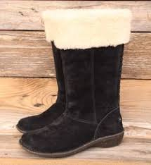 ugg womens karyn boot ugg australia womens dree black leather boots us 7 uk