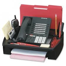 telephone stand desk organizer compucessory 55200 telephone stand organizer the office dealer