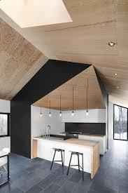 decoration cuisine noir et blanc cuisine noir bois fabulous bureau bois et noir cuisine noir et bois