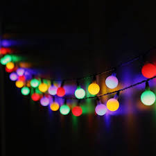 amazon com ball fairy lights omgai 17ft 60 led waterproof color