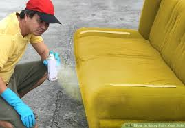 How To Remove Paint From Sofa How To Spray Paint Your Sofa 14 Steps With Pictures Wikihow