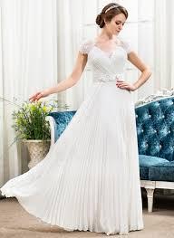 a line princess sweetheart floor length chiffon lace wedding dress