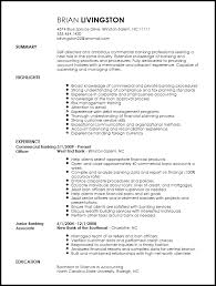 Resumes For Banking Jobs by Bank Resume Resume Cv Cover Letter