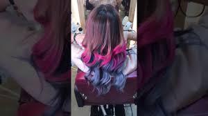 Blue Ash Color by Ash Blue U0026 Violet Ash Pink Using Ugly Duckling Color Line Youtube