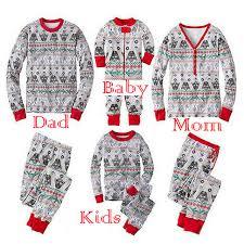 sweater pajamas 2017 wars family matching pajamas set