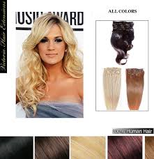 18 inch extensions 45cm 100g clip in remy human hair extensions all colors