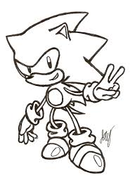 100 sonic the hedgehog coloring page sonic coloring page