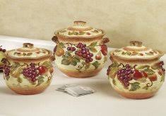tuscan kitchen canister sets tuscan kitchen canisters tuscan view kitchen canister set beige