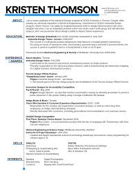 Best Resume Visual Presentation by Kristen Thomson Resume