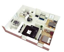 3d small house floor plans house plans