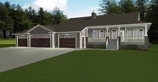 4 car garage plans with apartment above ranch house plans flagstone associated designs small open floor