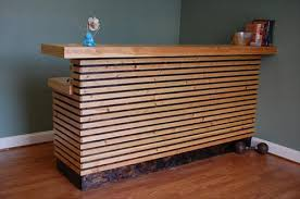 Reception Desk Plan 13 Amazing Wood Pallet Reception Desk Pallets Designs