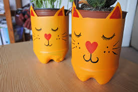 these adorable diy animal plant pots are the ultimate desk buddies