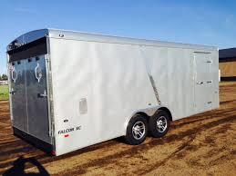 Cargo Trailer With Bathroom Spark U0027s Custom Enclosed