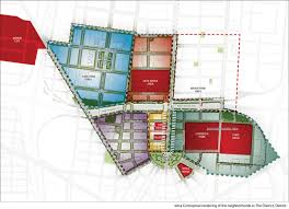Comerica Park Map Plan To Transform Downtown Detroit Released Michigan Radio