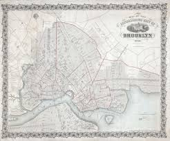 Old Map New York City by File 1863 Mccloskey Pocket Map Of Brooklyn New York