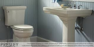 Matching Pedestal Sink And Toilet St Thomas Creations