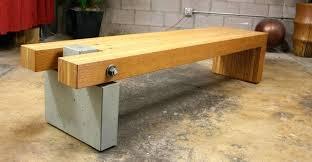 concrete and wood outdoor table concrete furniture diy retno info