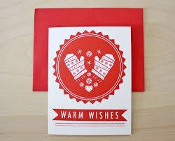 warm wishes card lights decoration