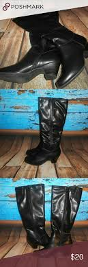 myer s boots fabulaire myers black boots size 7 50 black and