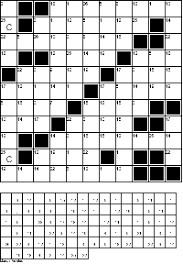 codeword puzzles printable cipher crosswords puzzles
