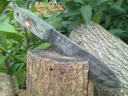 old hickory kephart first knife mod etched scales bow old hickory butcher knife mods have seen here and youtube decided try hand creating the really wanted myself